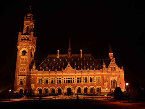Netherlands The Hague Peace Palace
