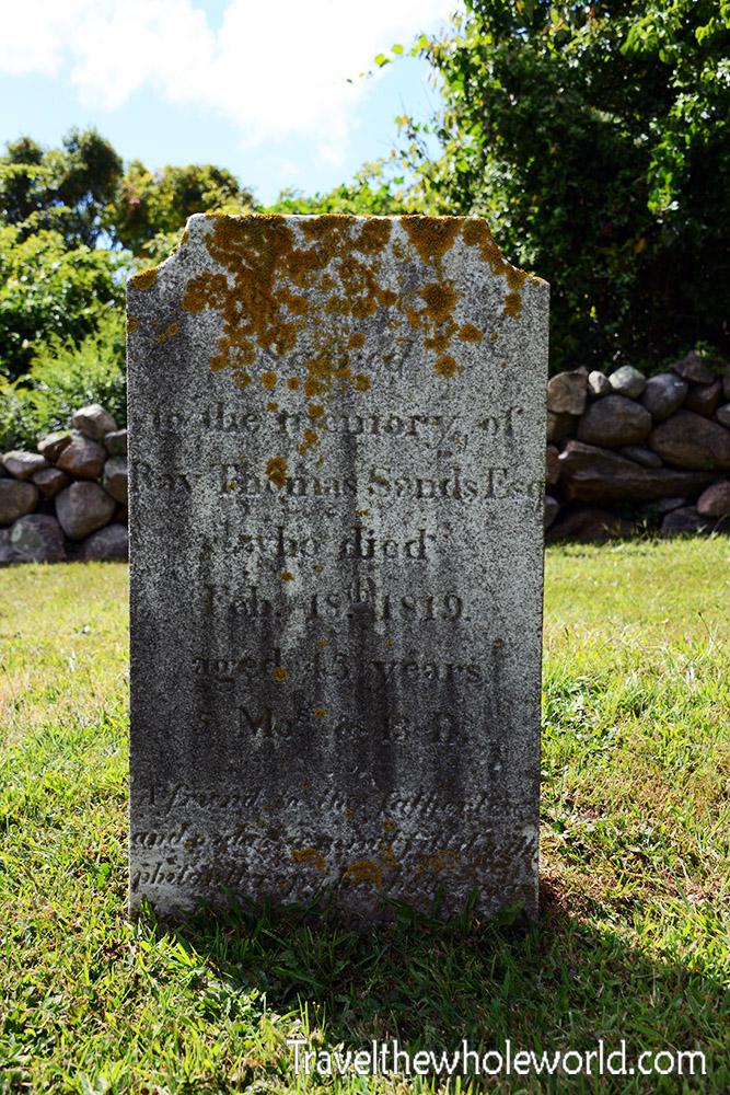 Rhode Island Block Island Grave