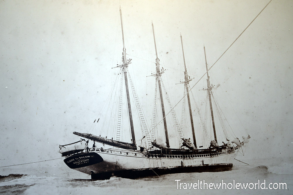 Rhode Island Block Island Lighthouse North Ship