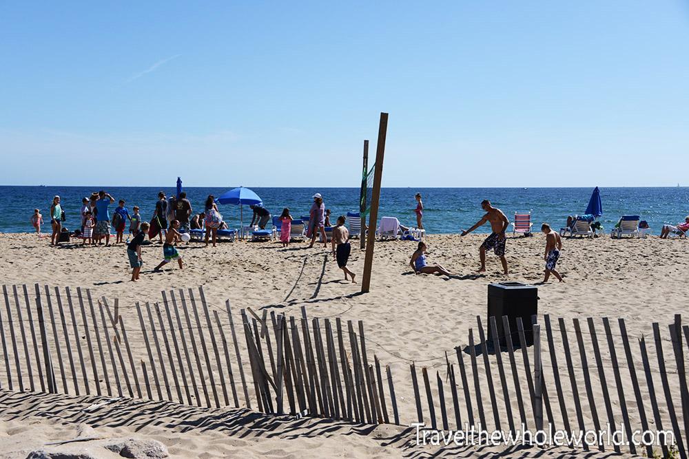 Rhode Island Block Island Volley Ball