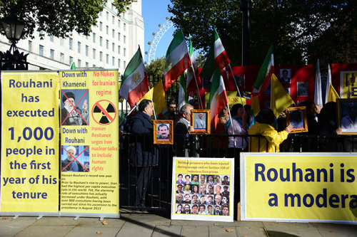 England London Iran Protest