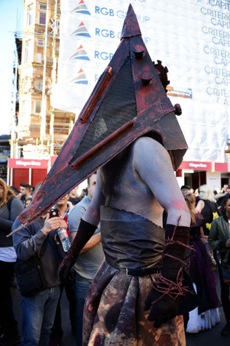 England London-Pyramid Head