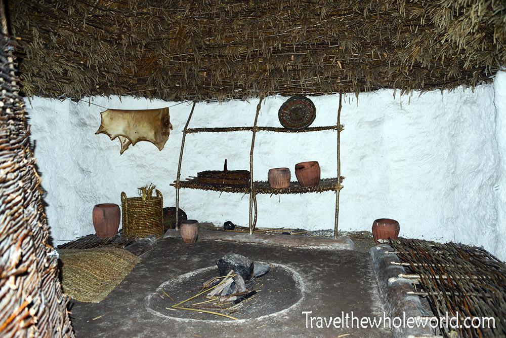 England Stonehenge Hut Inside