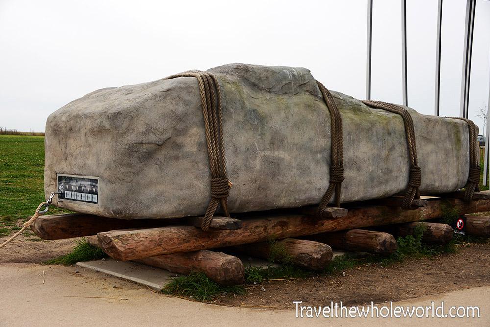 England Stonehenge Stone Pull Moving