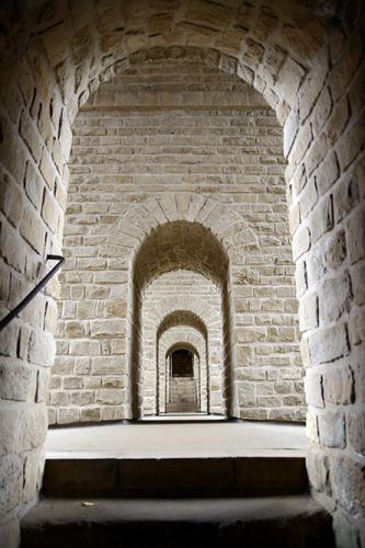 Luxembourg City Bock Casemates Doors