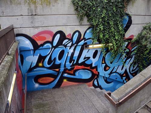 Luxembourg City Graffiti