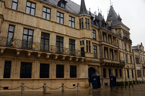 Luxembourg City Grand Ducal Palace