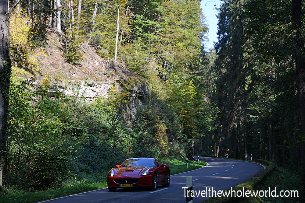 Luxembourg Mullerthal Driving Road