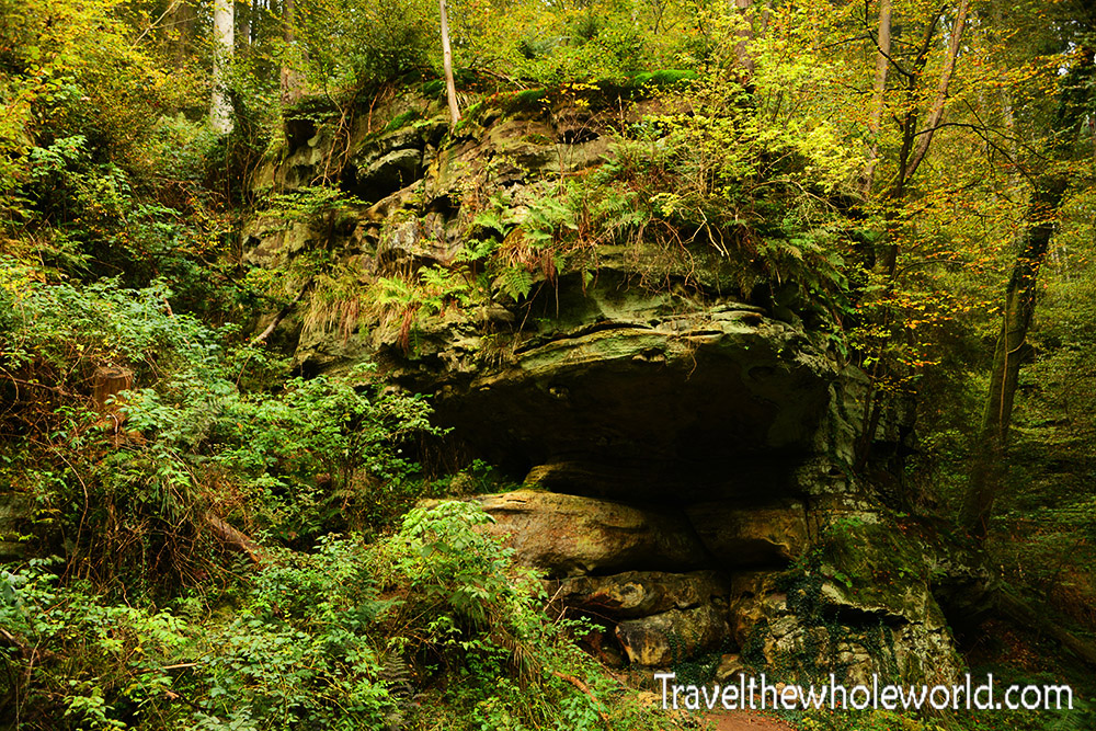 Luxembourg Mullerthal Rock