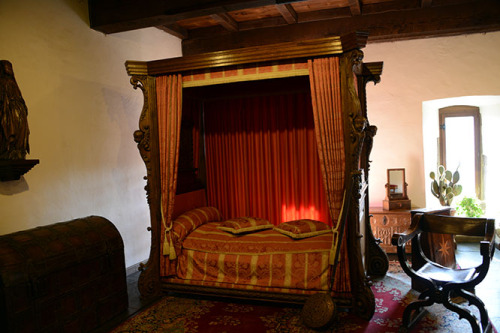 Luxembourg Vianden Castle Bed-Room