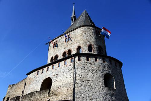 Luxembourg Vianden Castle Top