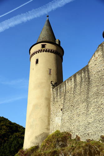 Luxembourg Vianden Castle Tower