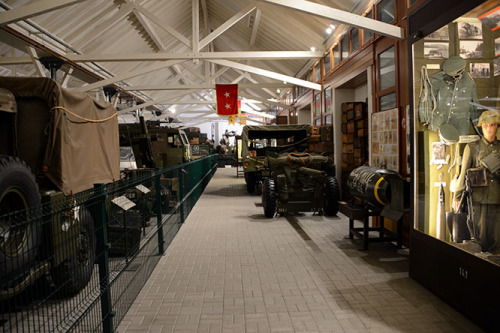 Luxembourg Diekirch WWII Museum Equipment