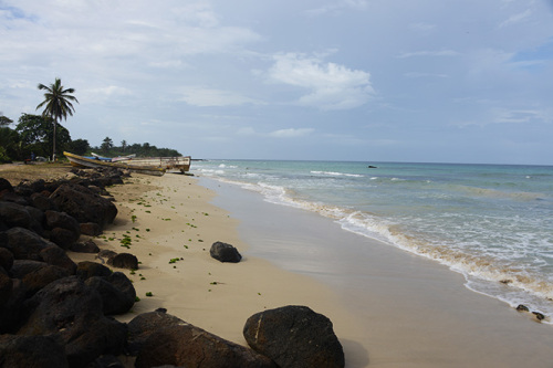 Nicaragua Big Corn Island Beach