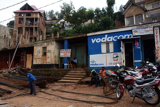 Congo Bukavu Shacks