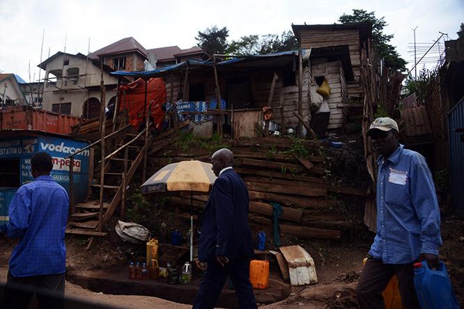 Congo Bukavu Street