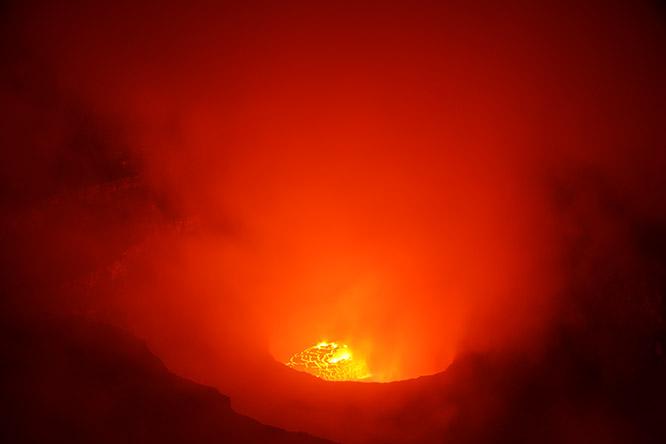 Congo Nyiragongo Volcano Summit
