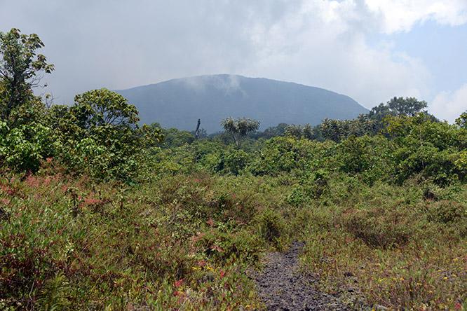Congo Nyiragongo Volcano View