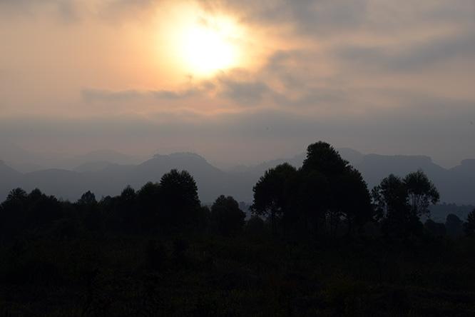 Congo Virunga Morning