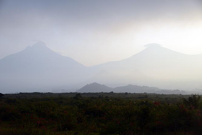 Congo Virunga Volcanoes
