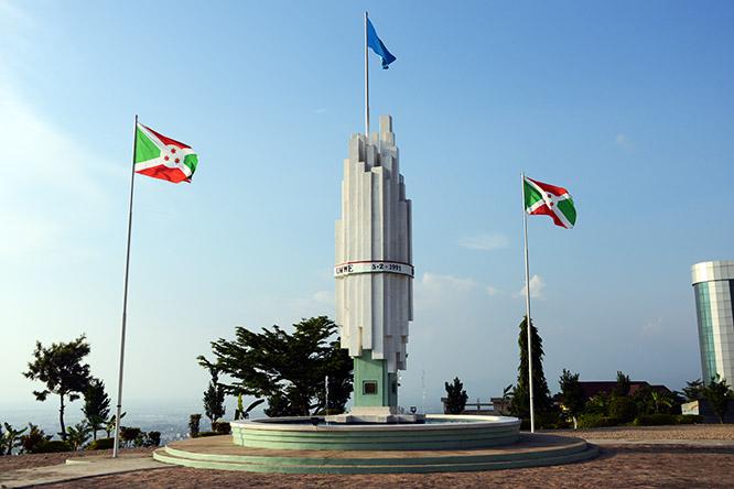 Burundi Bujumbura Civil War Memorial