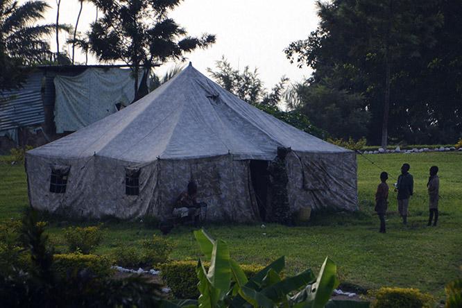 Burundi Bujumbura Civil War Tent