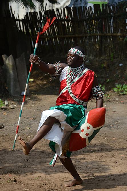 Burundi Bujumbura Drummers Chief