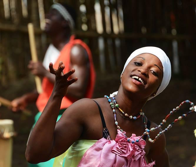 Burundi Bujumbura Drummers Dancer