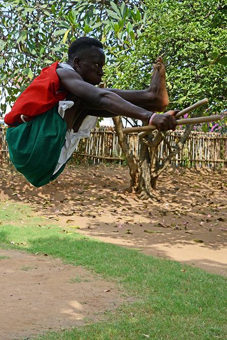 Burundi Bujumbura Drummers Jumping