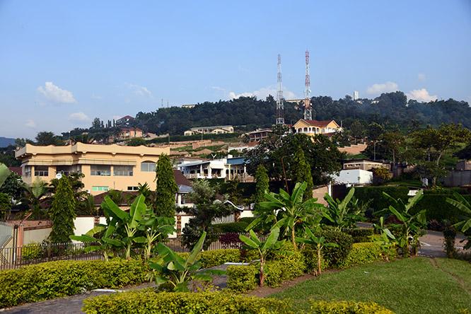 Burundi Bujumbura Hills