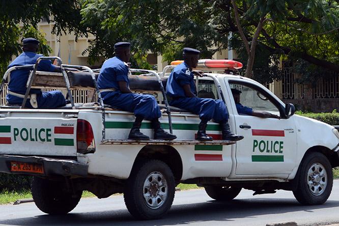 Burundi Bujumbura Police