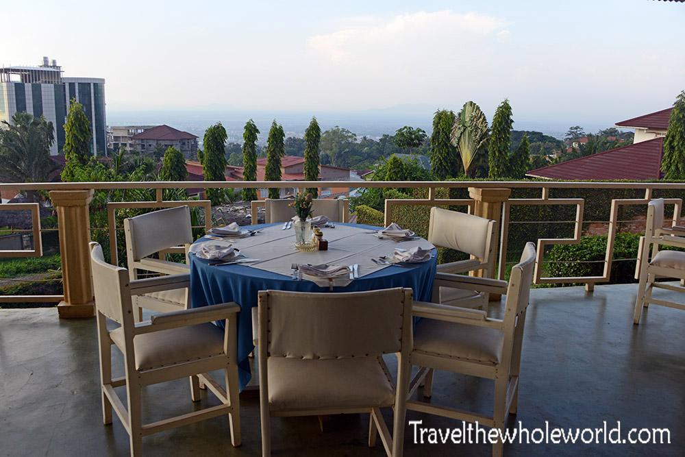 Burundi Bujumbura Restaurant View