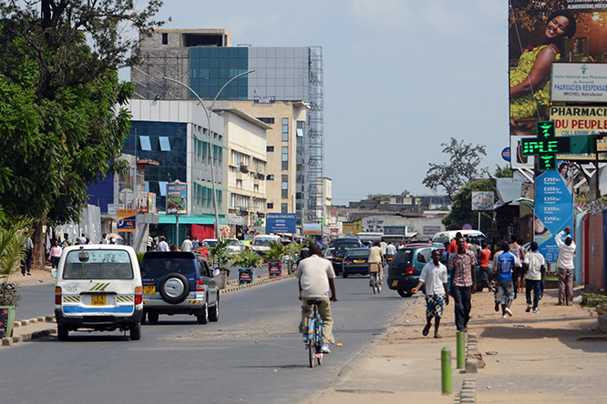 Burundi Bujumbura Street People