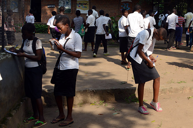 Burundi Bujumbura Zoo Field Trip