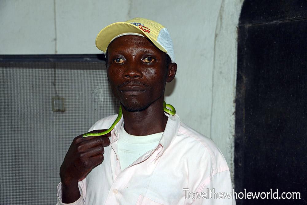 Burundi Bujumbura Zoo Snake Whisperer