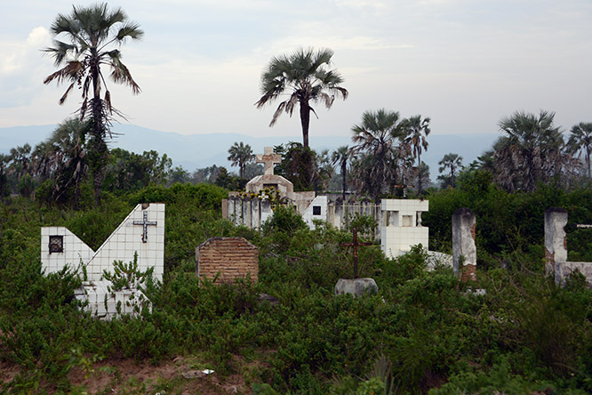 Burundi Rural Cemetery