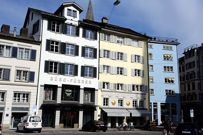 Switzerland Zurich Buildings