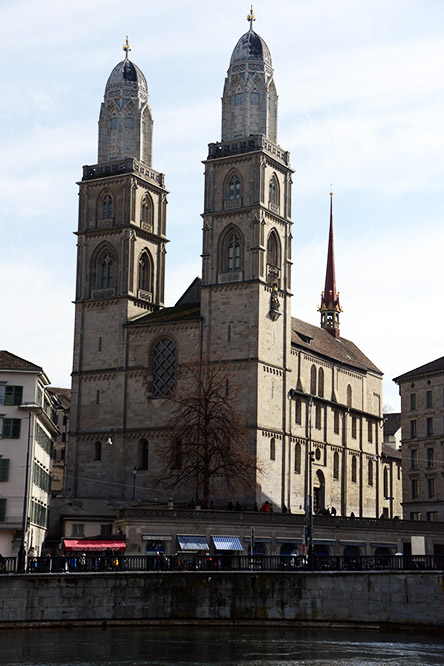 Switzerland Zurich Grossmunster Church