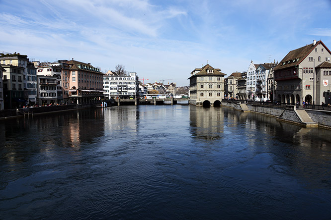 Switzerland Zurich Limmat