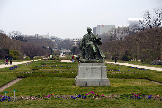 France Paris Botanical Gardens Statue
