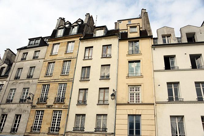 France-Paris-Houses