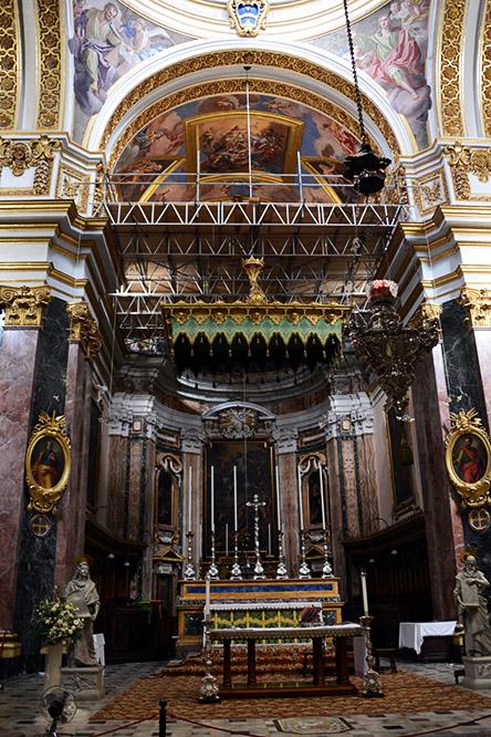 Malta-Mdina-Cathedral-Inside