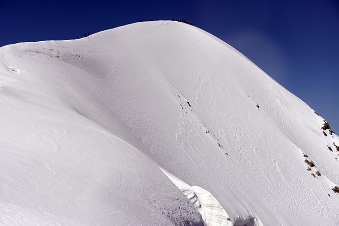 Switzerland Alps Breithorn Summit
