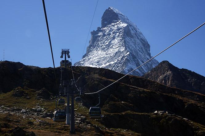 Switzerland Alps Matterhorn View
