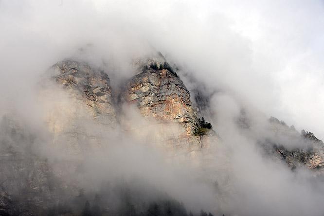 Switzerland Alps Mountain Clouds
