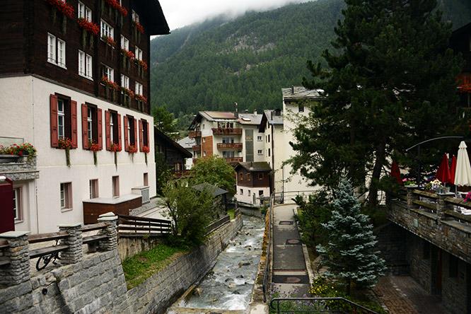 Switzerland Alps Zermatt River