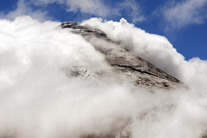 Ecuador-Cotopaxi-Summit
