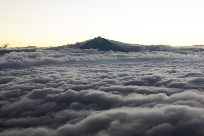 Ecuador Illinizia Sur Cotopaxi View