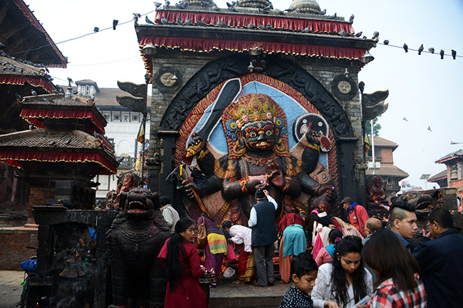 Nepal Durbar Kal Bhairav