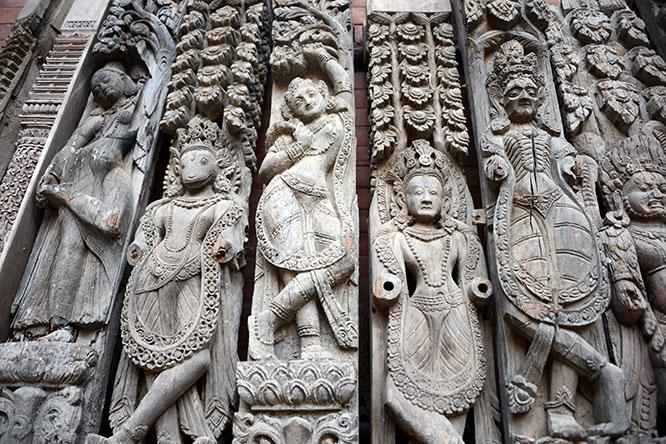 Nepal Durbar Woodwork
